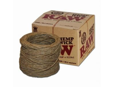 RAW Hemp Wick in a Bundle  | Аксессуары | SpbBong.com