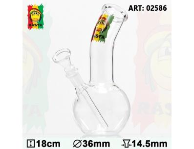 Rasta Smile Glass | Прочие | SpbBong.com