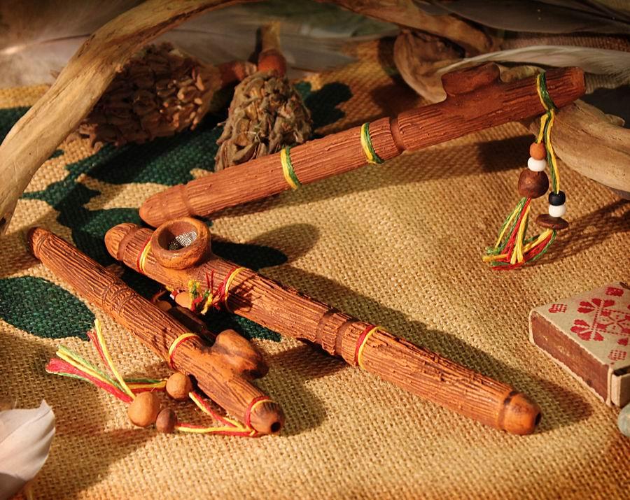 Глиняные курительные трубки своими руками